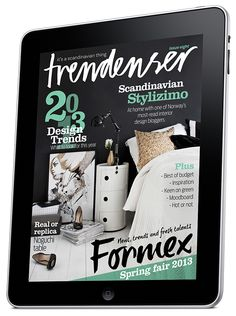 Trendenser iPad magazine - new issue out now!