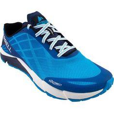 Merrell Bare Access Flex Running Shoes - Mens Cyan