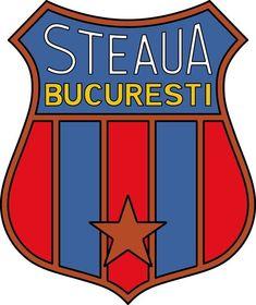 Steaua Bucharest of Romania crest. Bucharest, Club, Crests, Atari Logo, Romania, Soccer Teams, Logos, Sports, Sketch