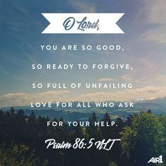 No matter what, His love never fails us. #VOTD #Bible #forgiveness #love