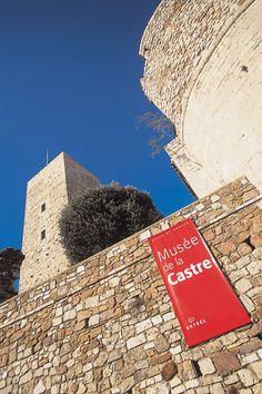 Musée de la Castre et sa tour carrée - © Ville de Cannes