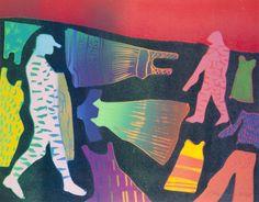 Crowd Control - Tom Hammick prints