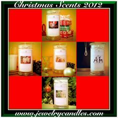 #2: Click on pic to check out our new Christmas Jewelry Candles ! They all smell amazing!