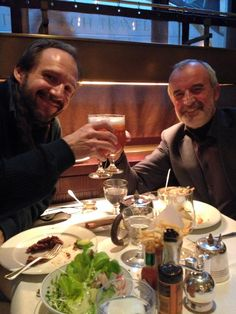 Ralph Fieens & Rimas Tuminas London, now in  The Delaunay Counter. 22/02/2015