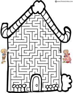 Hansel and Gretel labyrinthe