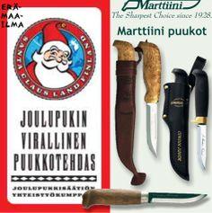 Marttiini-puukot  http://www.eramaailma.fi/Marttiini