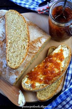 Opowieści z piekarnika: Szybki chleb pszenno - razowy