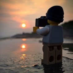 Meanwhile, on Tatooine | Legographer by Andrew Whyte