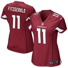 nike womens home game jersey arizona cardinals larry fitzgerald