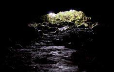 Explore Mt. Fuji's lava tunnels not too far from Gotenba.