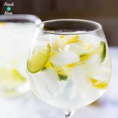 The Summer is here ☀️, so we decided to come up with some Slimming World friendly cocktails like this 4 Syn Elderflower Gin Fizz.