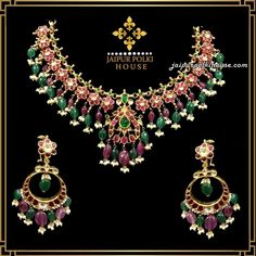 Welcome - Jaipur Polki House Bridal Jewelry, Gold Jewelry, Jewelery, Fine Jewelry, Collar Necklace, Necklace Set, Choker Necklaces, Homemade Jewelry Cleaner, Multi Coloured Necklaces