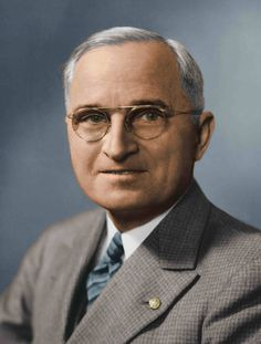 Harry S Truman (D33) finished WWII by ordering the atomic bombing of Japan in 1945.  The Korean War began during his tenure, as did the Cold War with the Soviets.