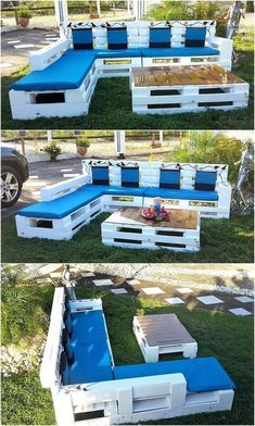 Transcendent Dog House with Recycled Pallets Ideas. Adorable Dog House with Recycled Pallets Ideas. Palette Garden Furniture, Pallet Furniture Designs, Pallet Patio Furniture, Wooden Pallet Projects, Furniture Projects, Outdoor Furniture Sets, Pallet Chair, Pallet Ideas, Skid Furniture
