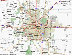 Denver Map - http://holidaymapq.com/denver-map-2.html