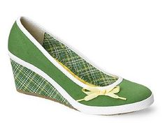 Converse Bliss canvas shoe in summer greens