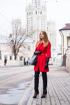 Tatti Style: Red Coat