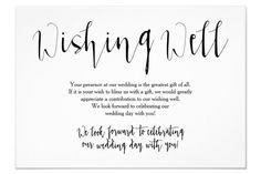 Wedding scrapbook ideas quotes wishing well poem insert each decorating styles 2019 Wedding Poems, Wedding Invitation Wording, Our Wedding Day, Wedding Gifts, Wedding Fun, Invitation Ideas, Boho Wedding, Wedding Blog, Invites