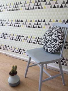 Round Chair pad / Cushion DOTS by StudioLilesadi on Etsy