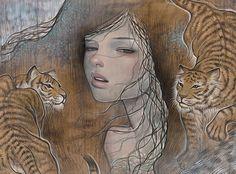 Audrey+Kawasaki+-+Tutt'Art@+(18).jpg 700×519 pixels