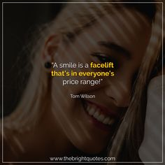 """""""A smile is a facelift that's in everyone's price range!"""" #smile #instagram #pinterest #quotes #quotesforher #smiling #goodmood #mood #insta #inspiration #keepsmiling #quotesoftheday #quoteoftheday #qotd #thebrightquotes #funny #boyfriend #girlfriend #captions"""