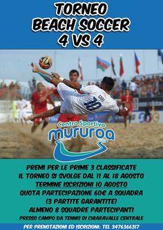 torneo 4 vs 4.... iscrizione aperte