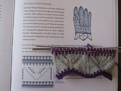 muhu udumismustrid - Google otsing Knit Mittens, Knitted Gloves, Knitting Socks, Knitting Charts, Knitting Patterns, Knit Edge, Knit Stockings, Knit Crochet, Mittens