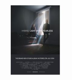 Hybrid Light Of The Fearless Signed Poster