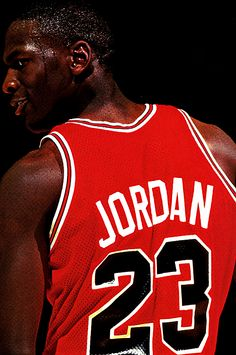 Jesus Shuttlesworth : Photo. Michael Jordan