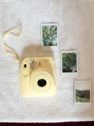 Amazon.com : Fujifilm Instax Mini 8 Instant Film Camera (Yellow) : Polaroid Camera : Camera & Photo