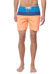 0b653035435 Striped Swim Trunks by Scotch   Soda on Park   Bond