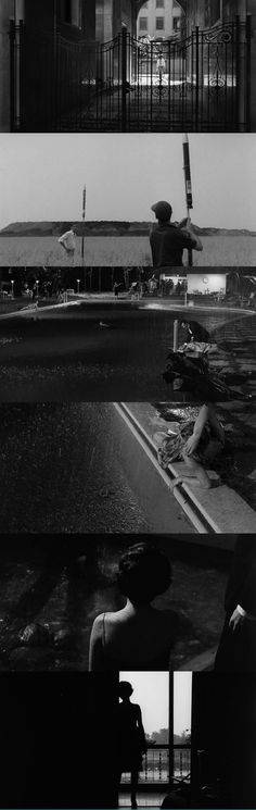 La Notte. Antonioni. 1961.