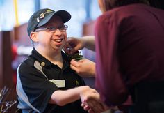 Bay County resident with Down syndrome named McDonald's Michigan region Crew Person of the Year | MLive.com