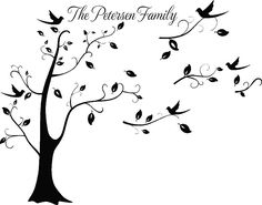 Personalized Family Picture Tree
