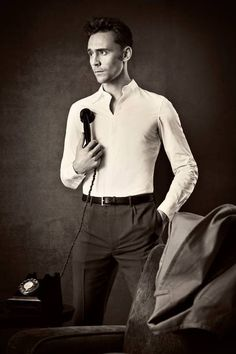 Tom Hiddleston... I'm starting to think he may be the most perfect male specimen there is.