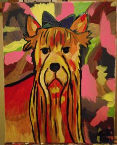 Yorkshire Terrier on Etsy, $50.00