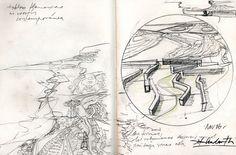 Ignacio Klindworth. Boceto para la serie #Tablas flamencas contemporáneas. Lápiz sobre papel. Cuaderno 28x14cm. www.ignacioklindworth.es