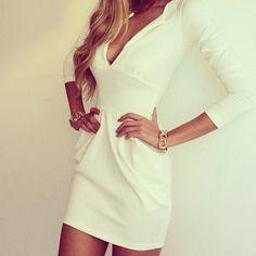 White dress, lovely