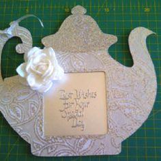 Kitchen tea card