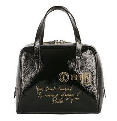 yves saint laurent metallic mini tribute tote