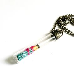 Trouble+Doll+Necklace+Worry+Doll+Pendant+Soldered+by+Mystarrrs,+$27.00