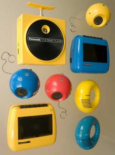 I had the one that looks like a detonator & the square one