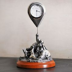 Royal Selangor Winnie the Pooh Clock. This highly detailed piece has to be one of our favourites from this collection. You won't be disappointed by this design.