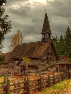 Old Country Small Church