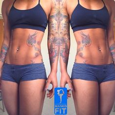 wow! A girl with a body like this is what motivates me to stay in the gym. :)