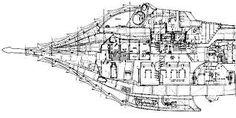 Bildergebnis für nautilus submarine technical drawing