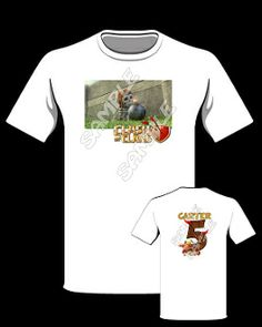 CLASH OF CLANS T-SHIRT Star Wars Party Favors, Party Favor Bags, Star Wars Invitations, Birthday Invitations, Star Wars Stickers, Star Wars Birthday, Star Wars Gifts, Star Wars Tshirt, Zip Up Hoodies