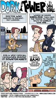 I don't see anything wrong with this! #Doctor Who #Sherlock #Downton Abbey