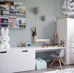 Baby Boy Nursery Decor, Baby Room Decor, Living Room Decor, Kids Bedroom Furniture Design, Bathroom Interior Design, Ikea Kids Desk, Kids And Parenting, Playroom, Kids Room
