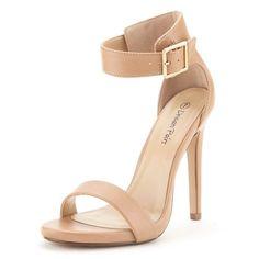 DREAM PAIRS ELEGANTEE Women's Evening High Heels Open Toe Ankle Strap Platform…
